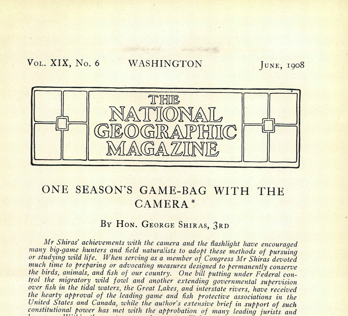 National Geo 1908 article