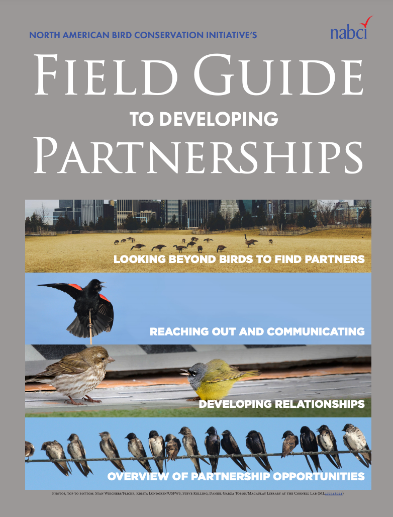 Cover field guide partnerships